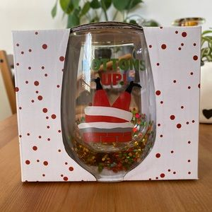 NWT Urban Outfitters Confetti Stemless Wine Glass